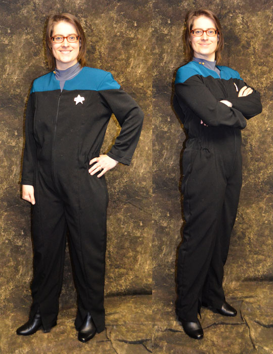 Star Trek Voyager - science officer
