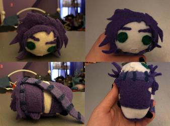 Jojo's Bizarre Adventure Purple Joseph Joestar Stackable tsum plush commission for lapis-lupus