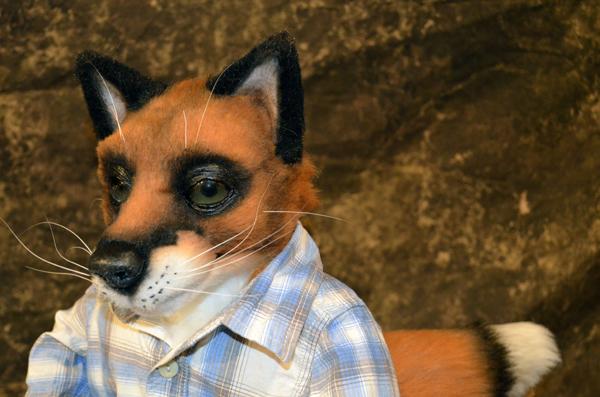 Fox Puppet 2