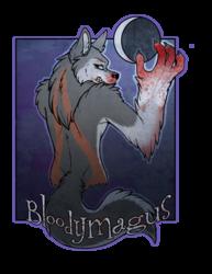 bloodymagus were badge