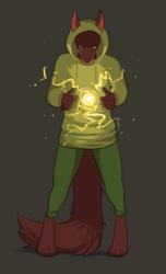 Vinchenzo the Jackal uses magic by Akuva