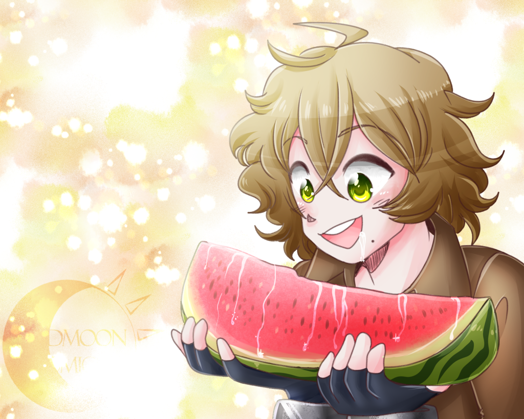Venus Eats a Watermelon