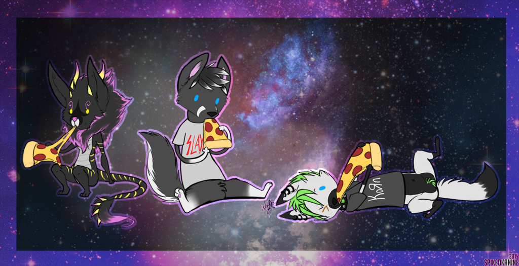 Most recent image: PIZZA PARTY IN SPACE