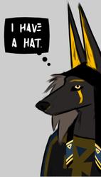 Anubis' hat
