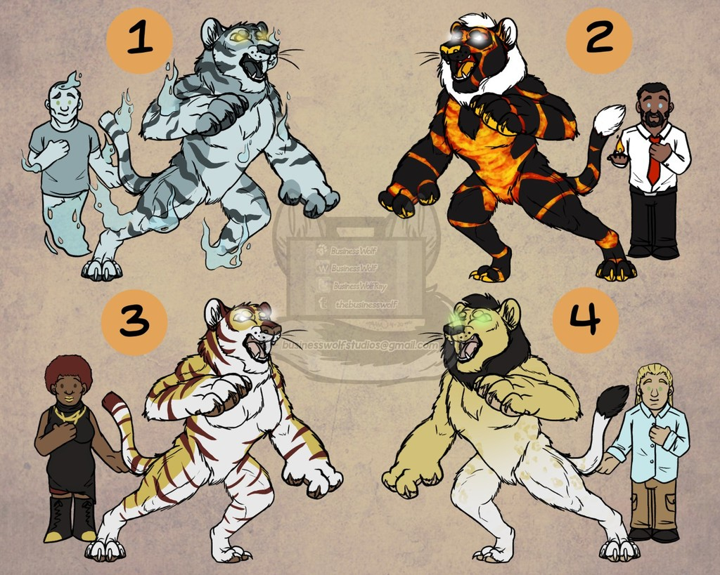 Leftover Were Adopts $15 Each [3/4 OPEN]