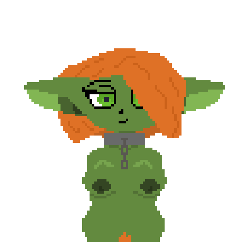 Sarah the Goblin nude