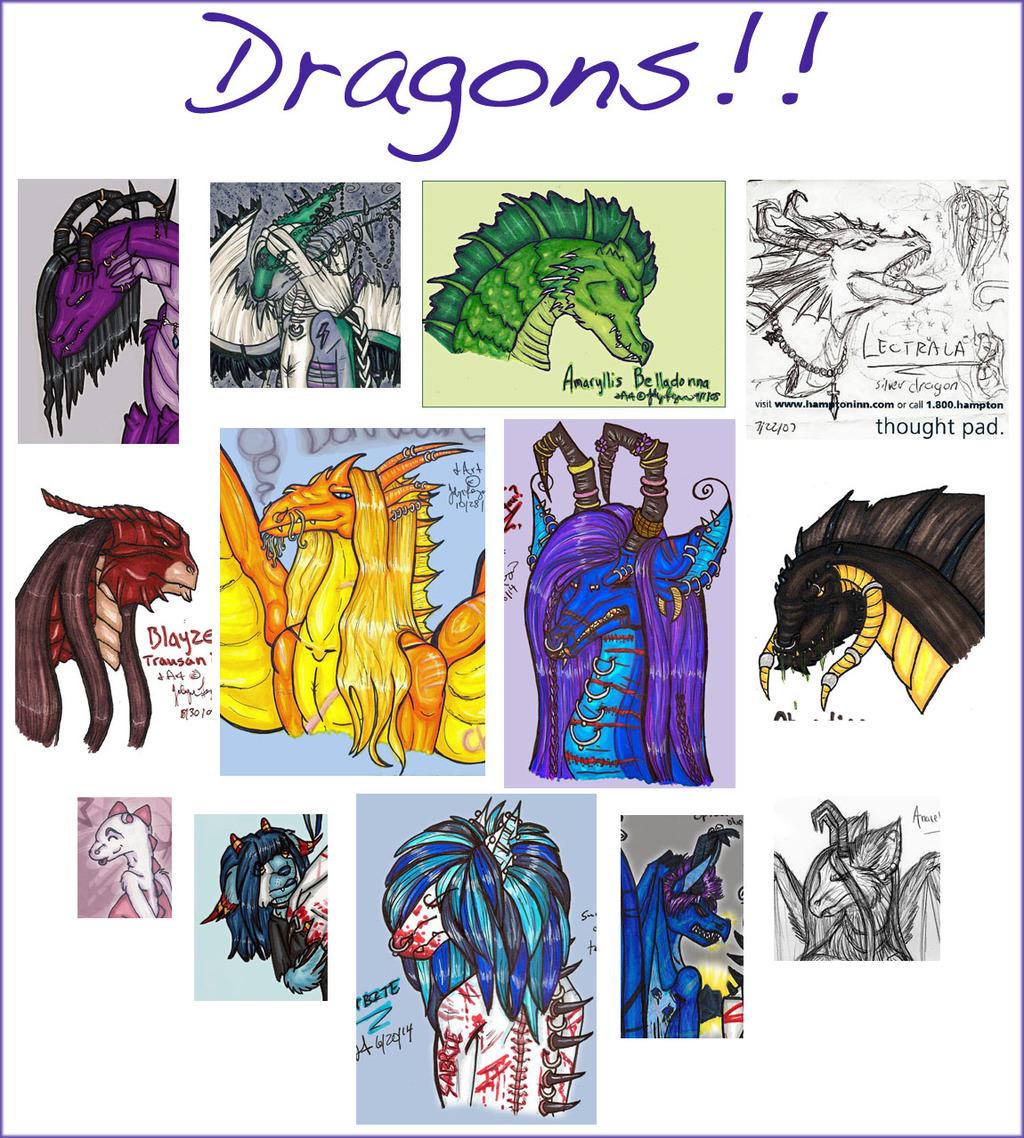 Dragons everywhere!!