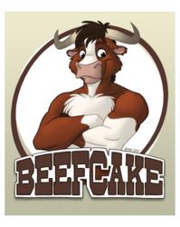 Badge: Beefcake