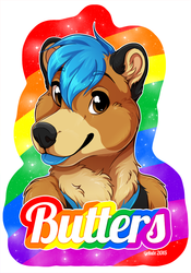 Badge: Butters