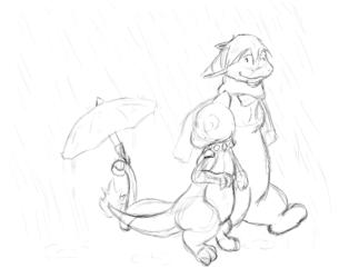 I'll Help You Those Rainy Days - by EmuSal
