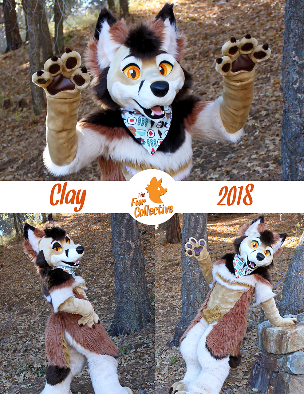 Clay the FoxYote- Fullsuit