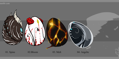 Egg Adoptables - Closed, all gone! (Batch IV)