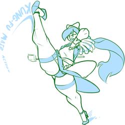 Kung-Fu Maid Action