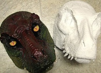 Dino mask blanks