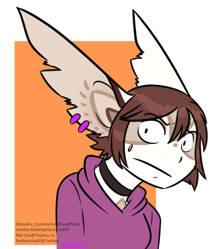 Most recent image: Anthro-Nervously Glances At the Camera