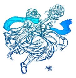 Iaido The White Mage (?)
