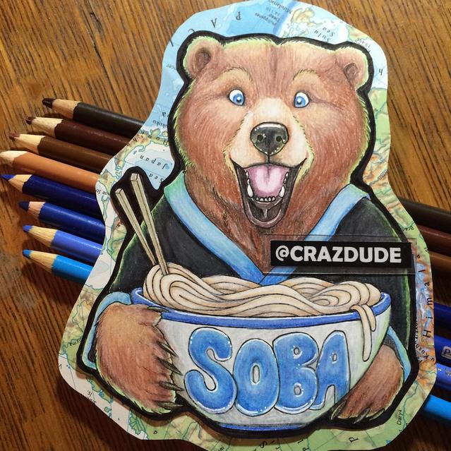 Soba Traditional Badge