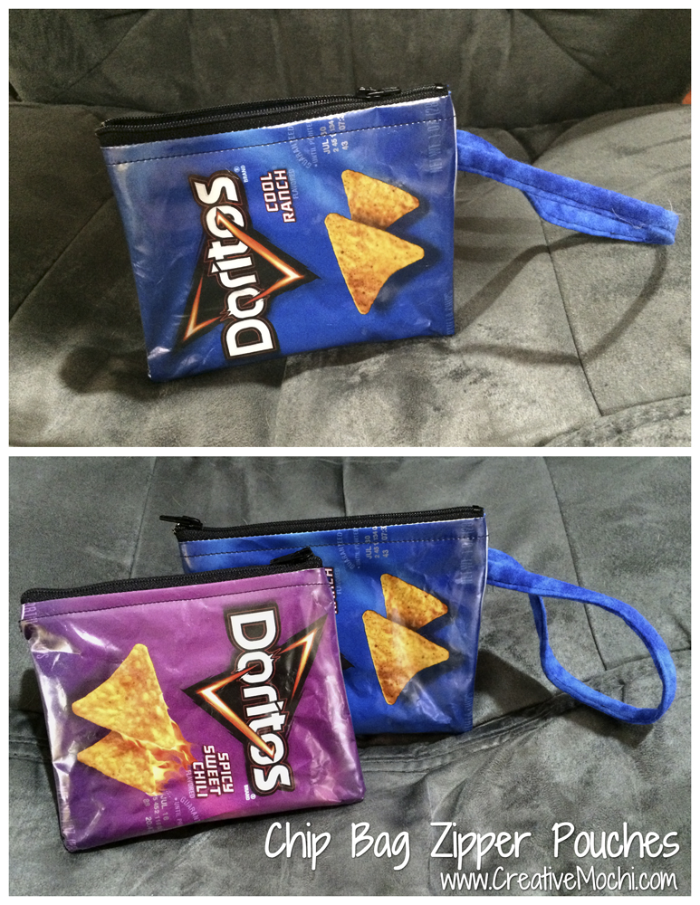 Chip Bag Zipper Pouches
