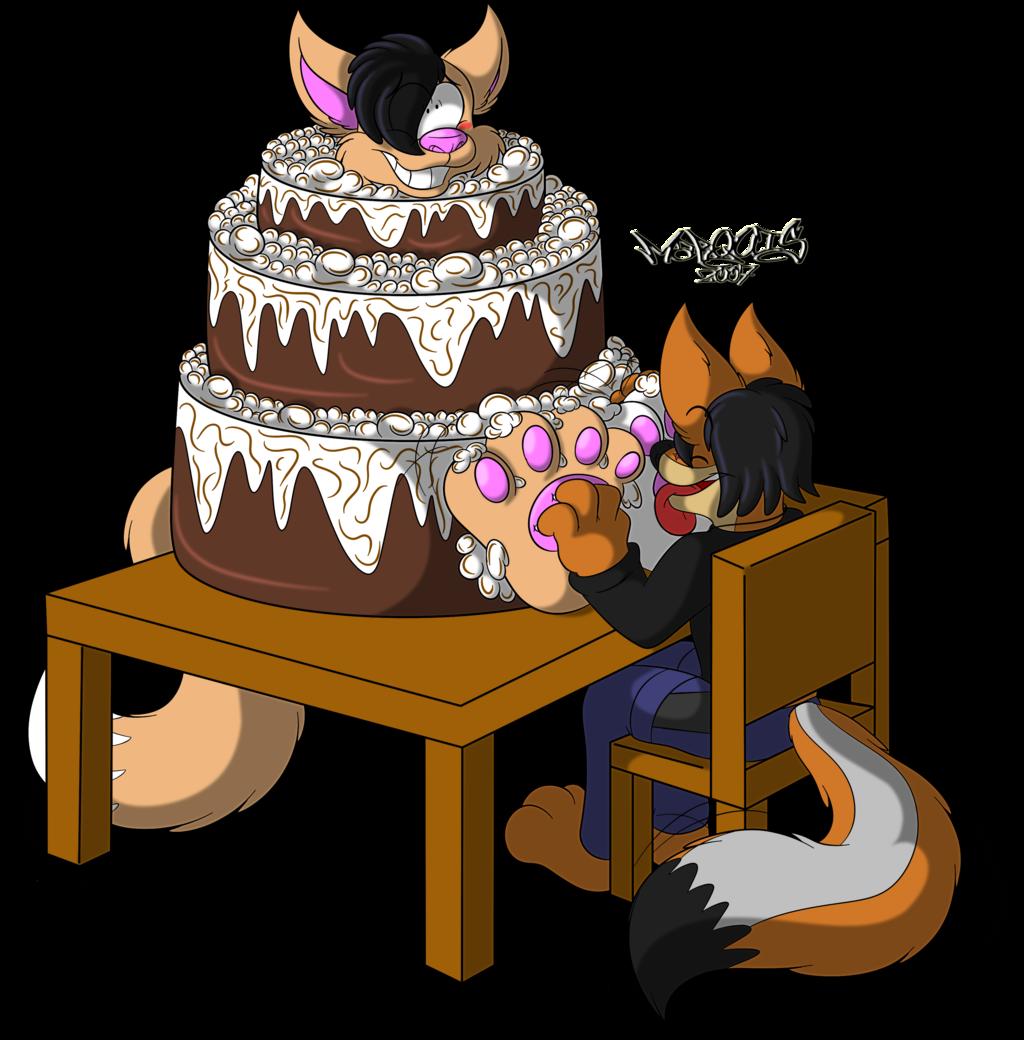 Pawsome Cake