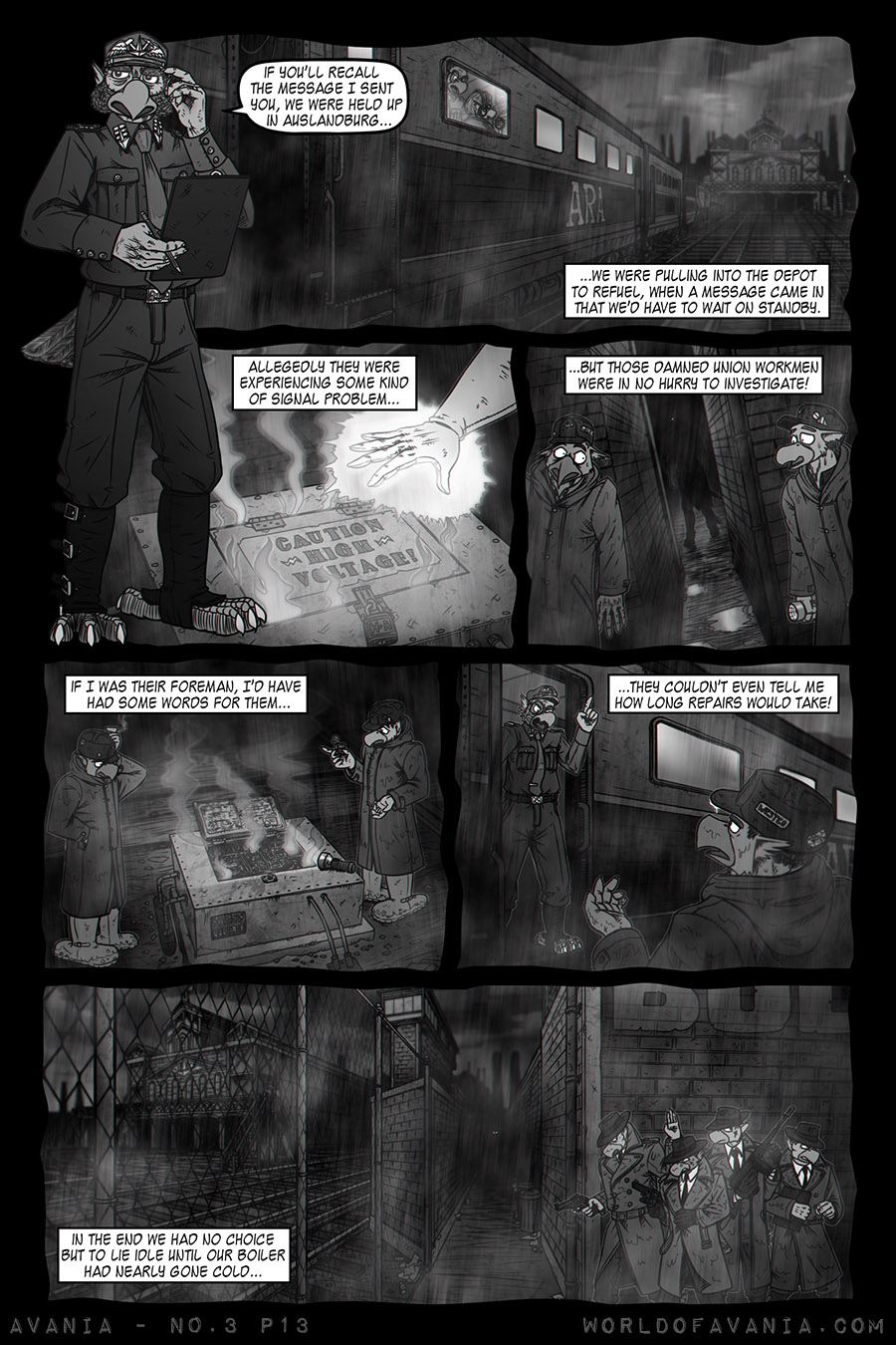 Avania Comic - Issue No.3, Page 13