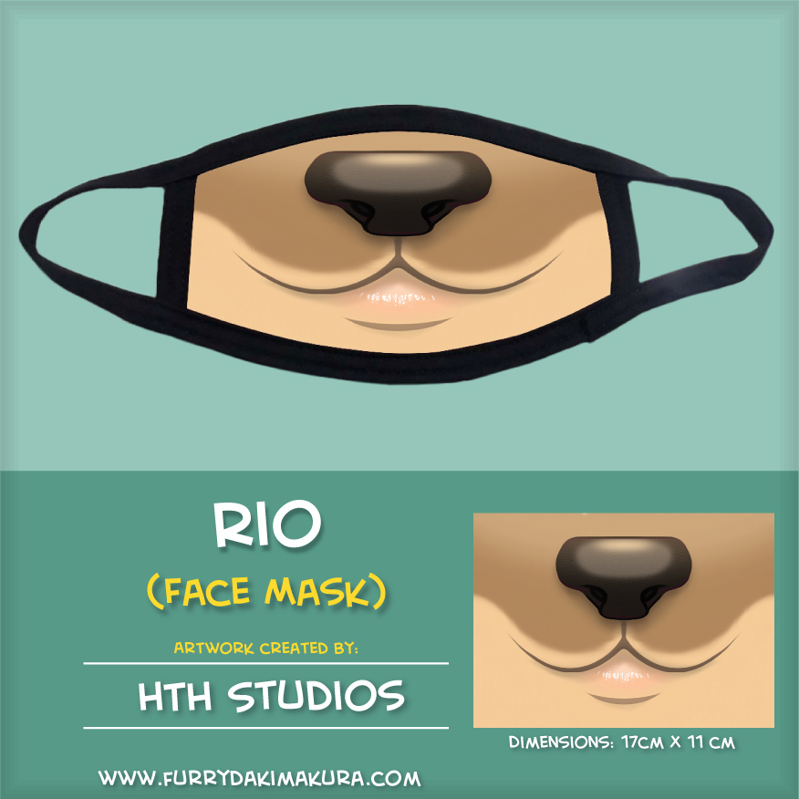 Rio Face Mask by HTH Studios