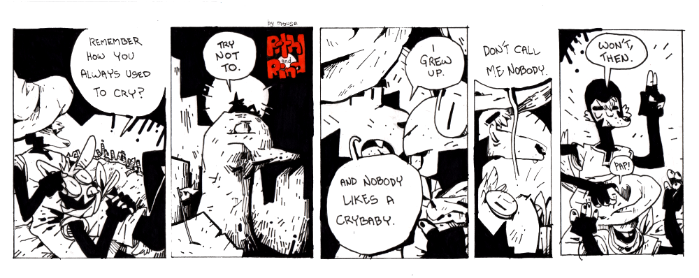 Most recent image: Pith and Rind 007 - Crybaby