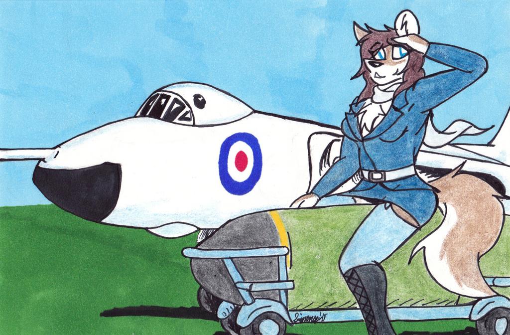 Martial Pinups: Avro Vulcan