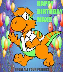 MAXFOXCOON BIRTHDAY
