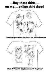 Shirt sketches
