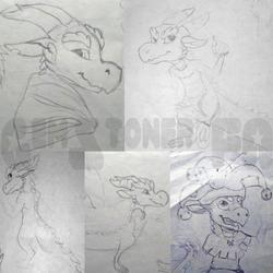 Kobold sketch page