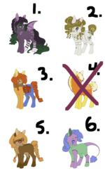 Halloween Pony Adopts