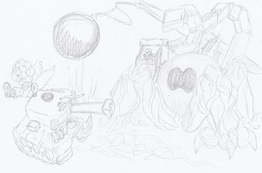 Game Concept-Excavator Scorpion