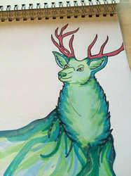 Ethereal Stag