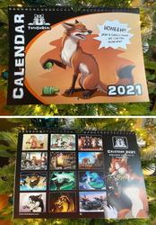 New Art Calendar 2021