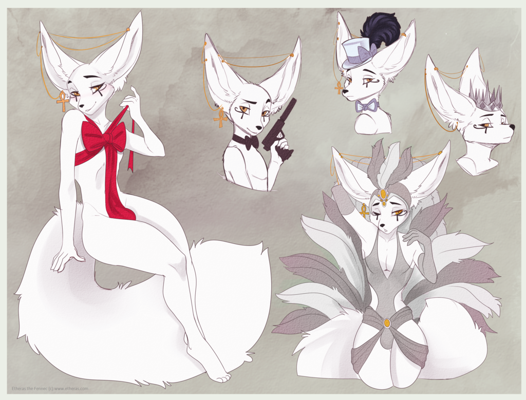 Faces of Etheras (by Aimi)