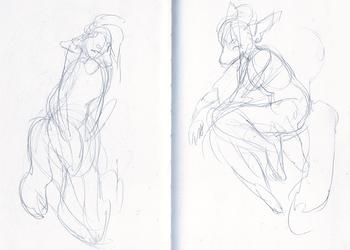 Break sketching
