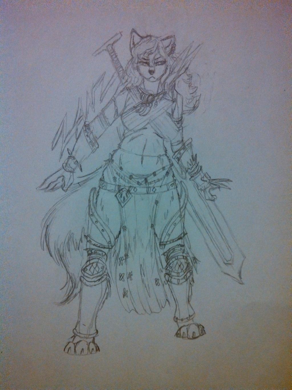 Female Barbarian