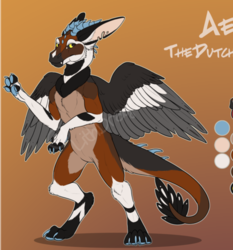 Aethon Character Reference Sheet