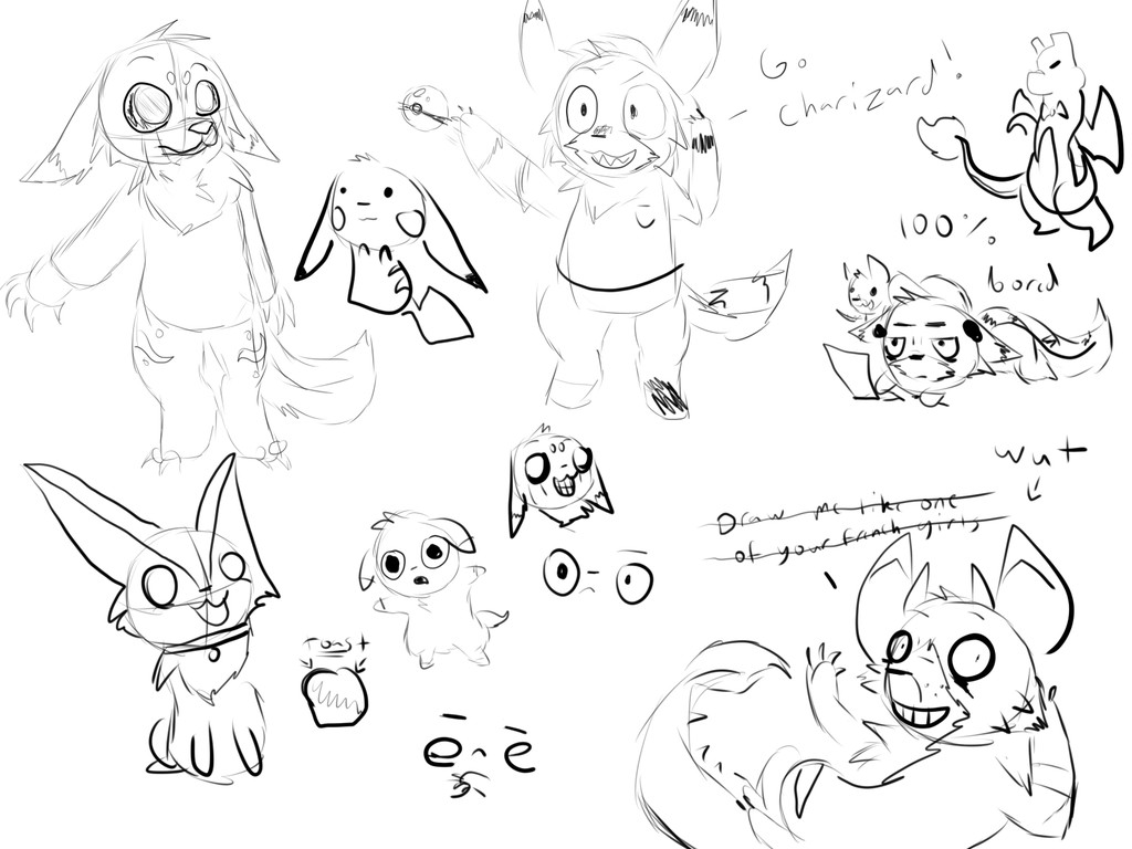 Boredom doodle dump