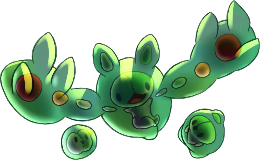Pokemon Reuniclus Coloring Pages Images