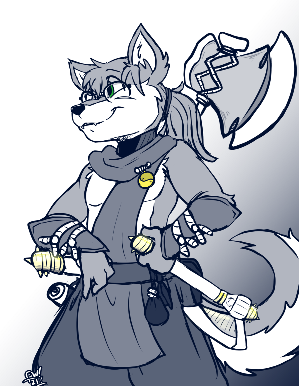 Most recent image: Axe Wolf Returns! (Nioh 2)