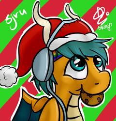Nom! Christmas cookie! o3o!