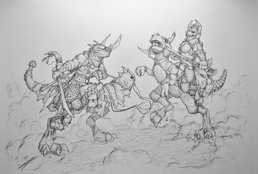 Desert duel