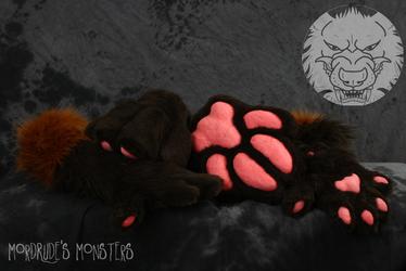 Hazzardwolf paw set