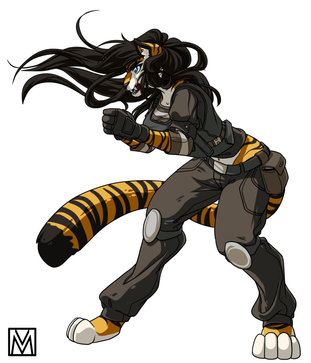 Fiona Cell - Irish Tigress - Comm - Wolfpack67