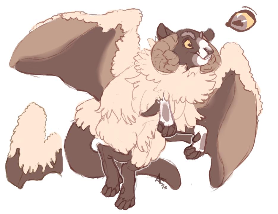 sheepdragon adoptable [open]
