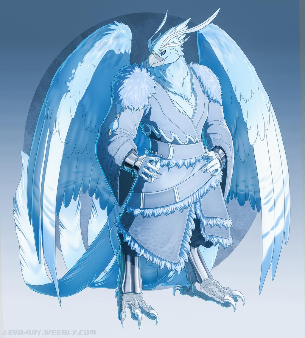 Egg Hatch - Ct7-117 - Aarakocra Ice Phoenix