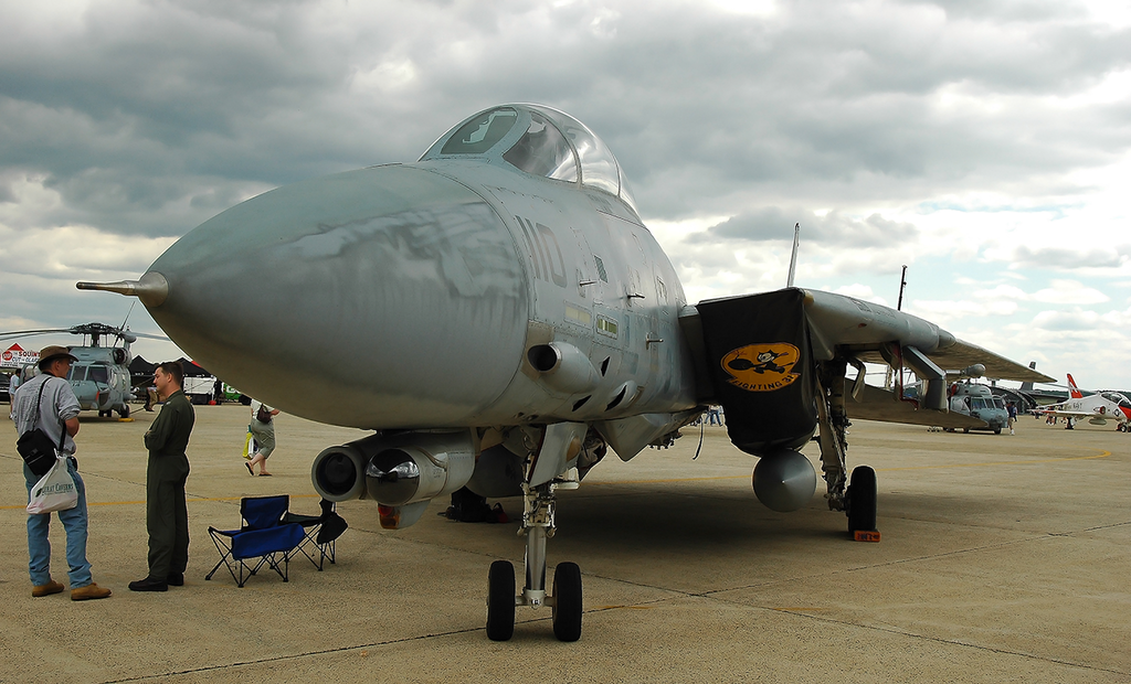 Most recent image: F-14D Tomcat (2006 Open House)