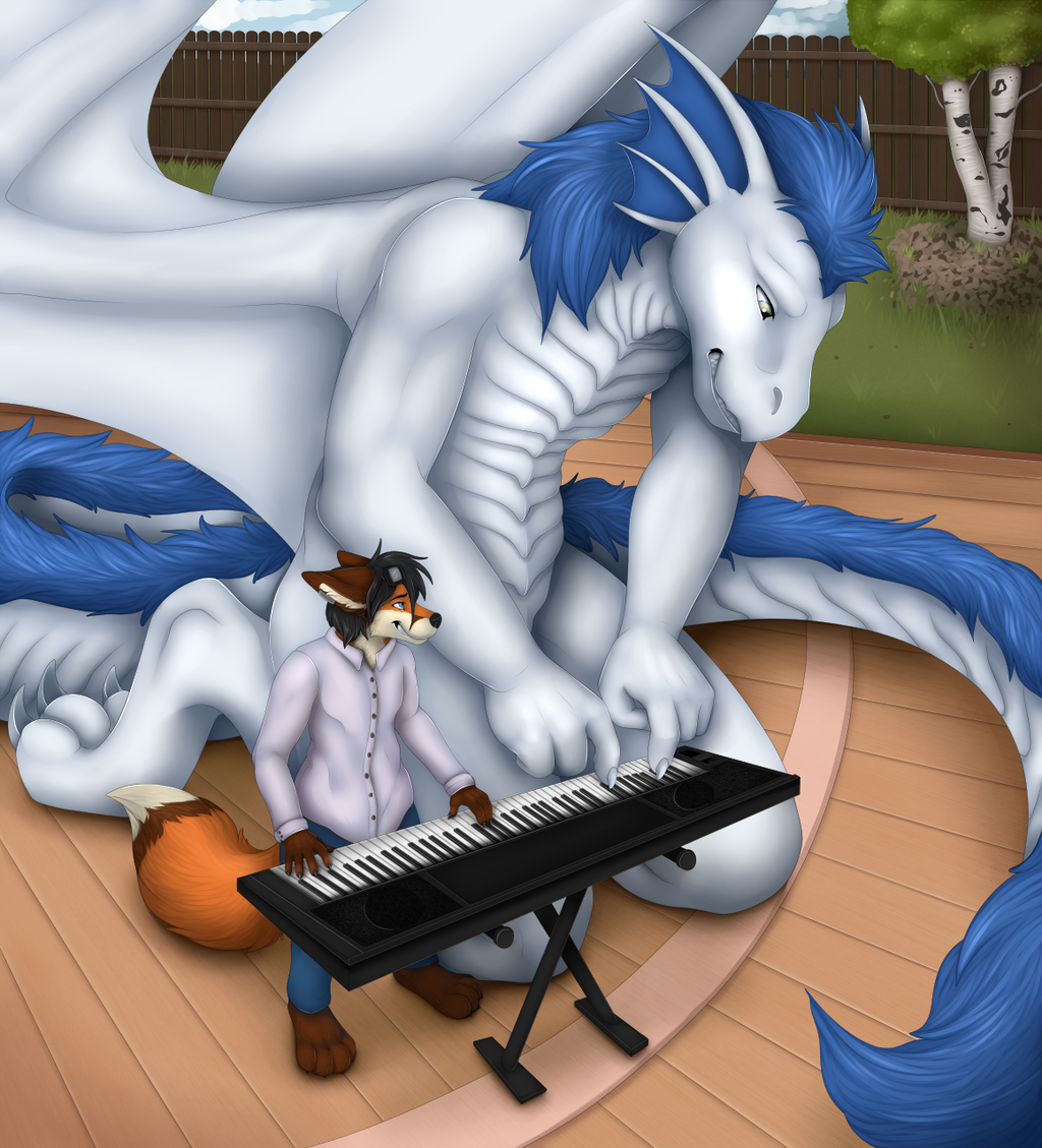 Fox Concert @ Rooth's deck -- by staggard