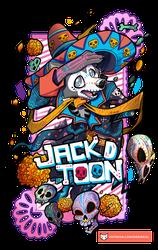 Jack Día de Muertos Badge